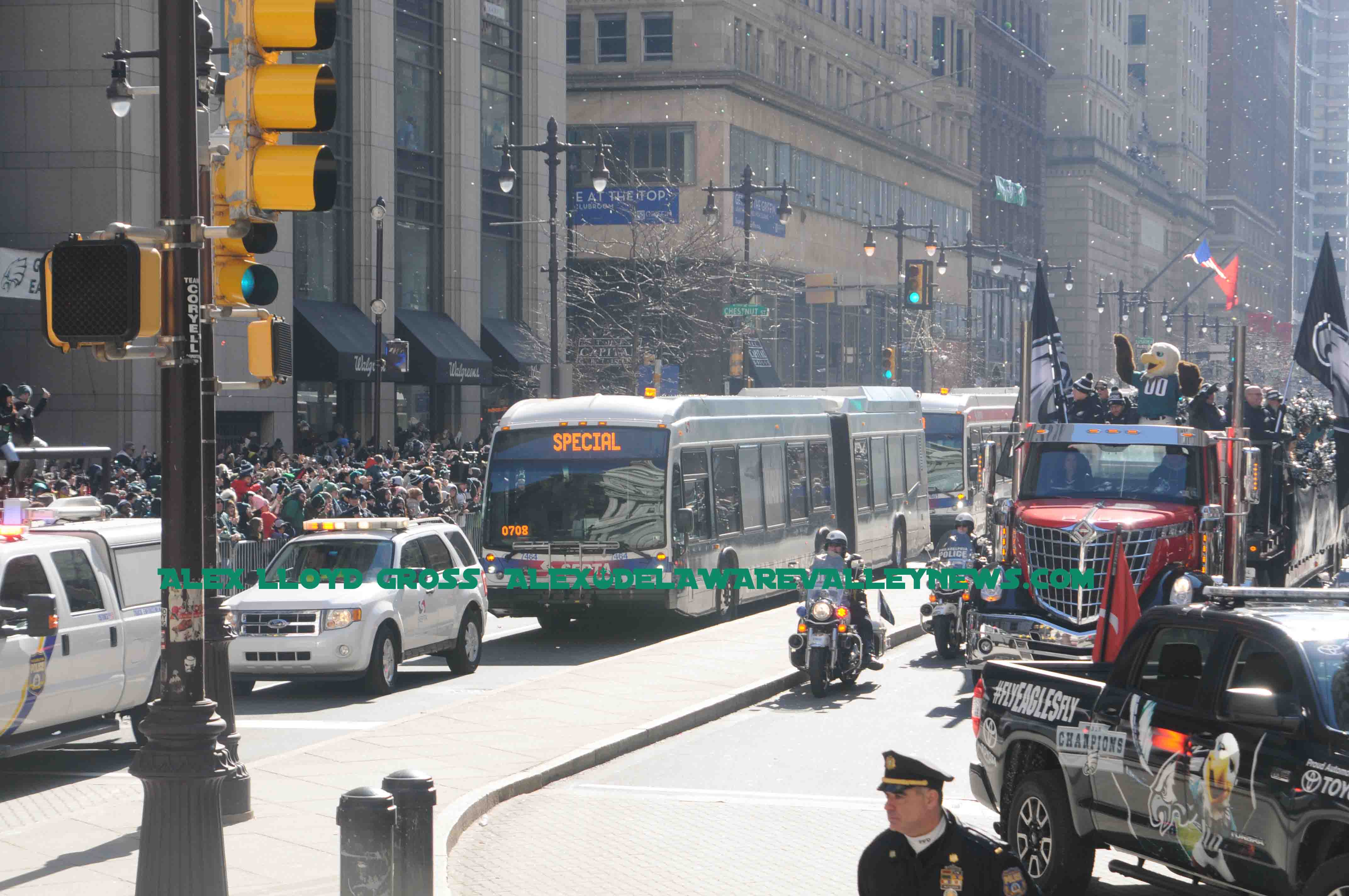 septa buses messed up parade experience for many delaware valley news