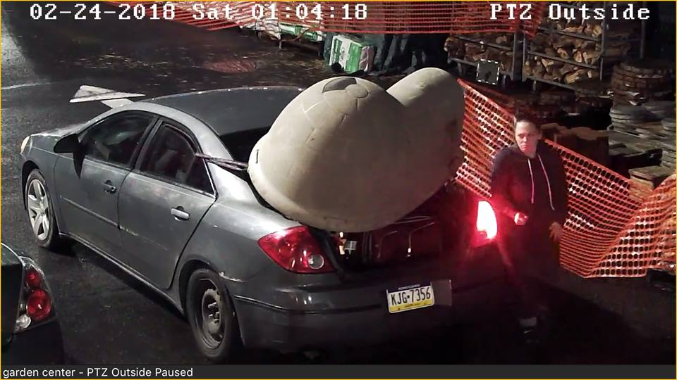 Stupid Female Steals Cat Shelter From Bucks County Business Delaware Valley News