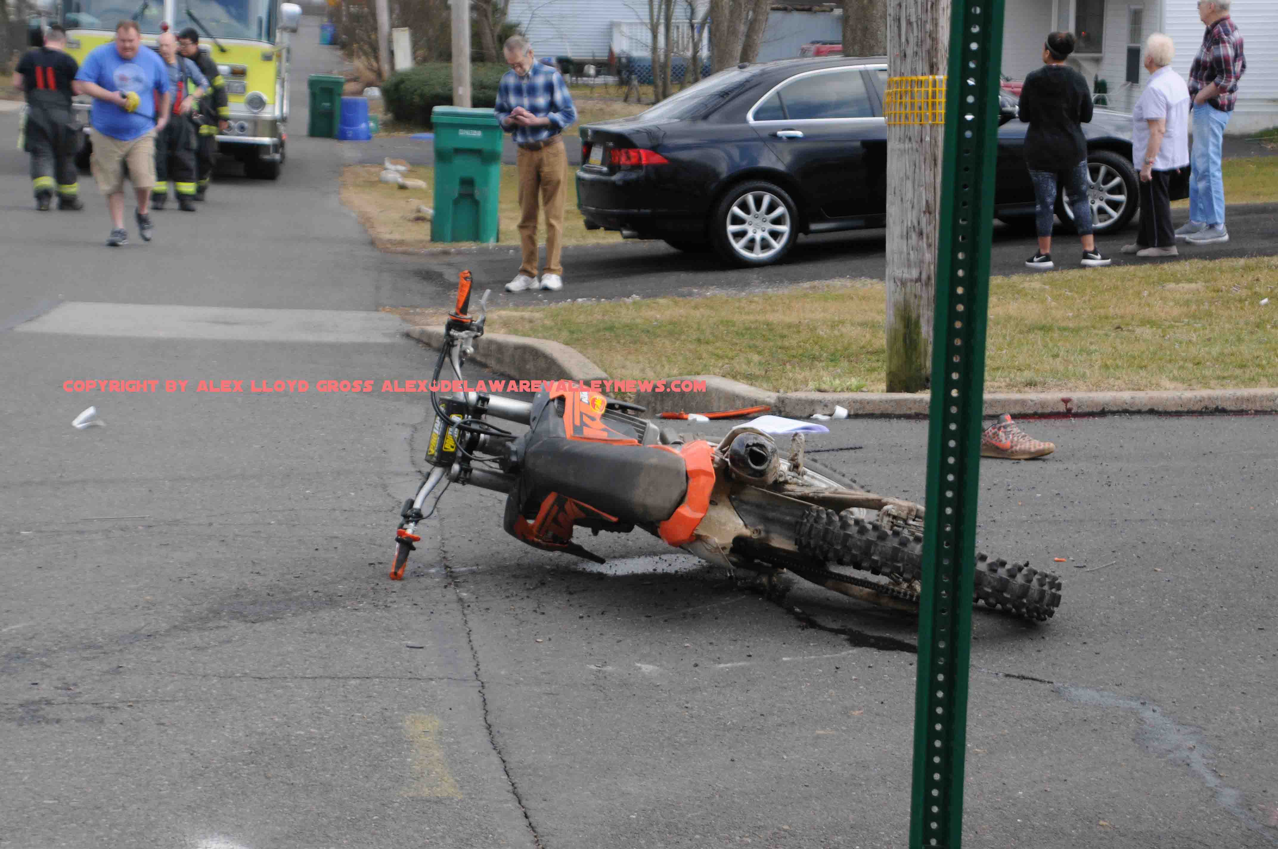 Two critically hurt in Bensalem motorcycle crash | Delaware